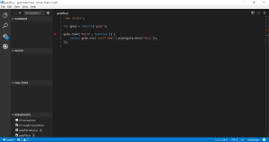 VS Code debugger breakpoint