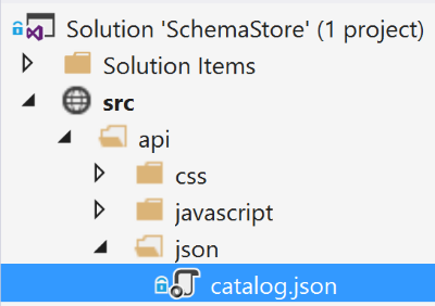 Community-Driven JSON Schemas in Visual Studio 2015 – Scott